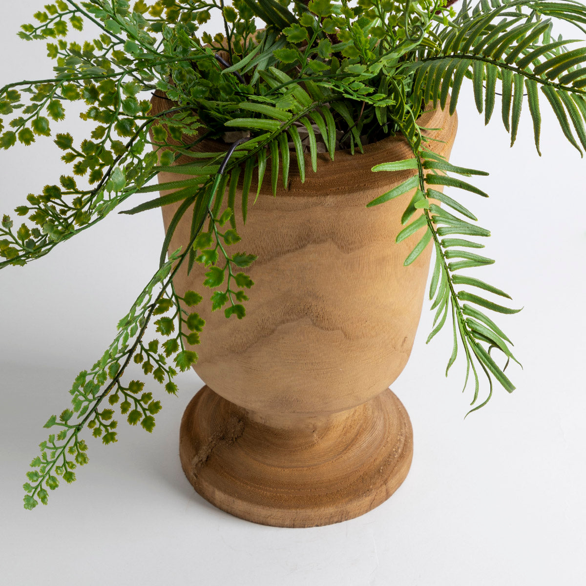 Wood Carving Cup Vase