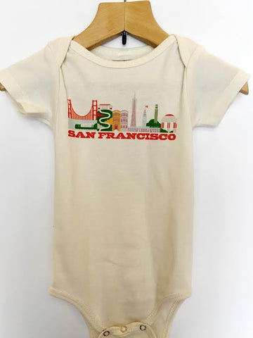 San Francisco City Living Onesie