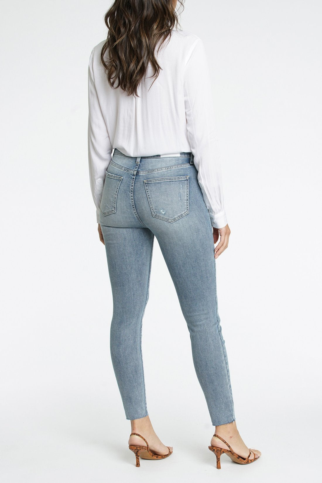 Aline High Rise Skinny Marmont Jeans -Picnic-sf