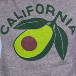 California Avocado Crewneck Grey Sweatshirt-Picnic-sf