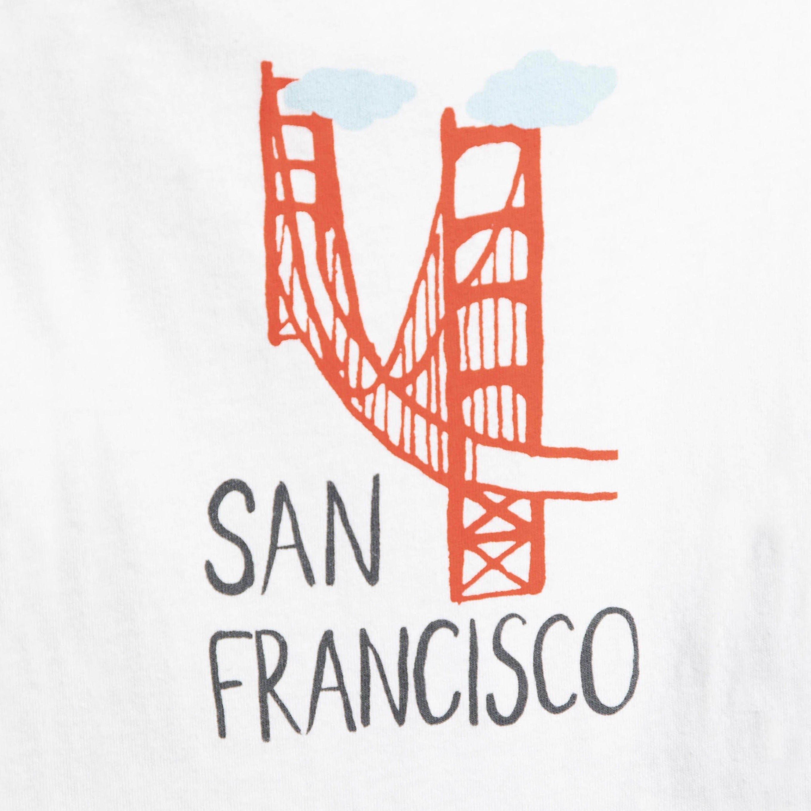 San Francisco Golden Gate Bridge Onesie