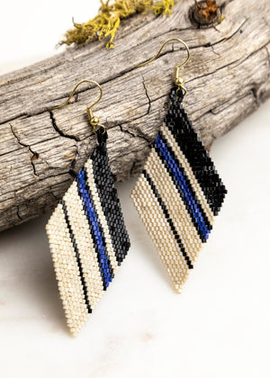 Luxe Diamond Stripe  Earring-Picnic-sf