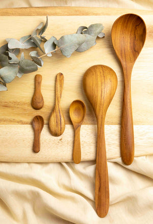 Teak Spoon Set - picnic-sf
