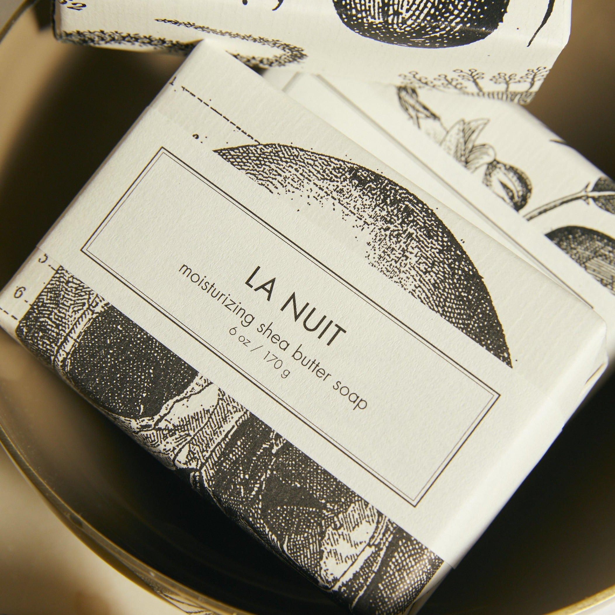 La Nuit Shea Butter Bar Soap - picnic-sf
