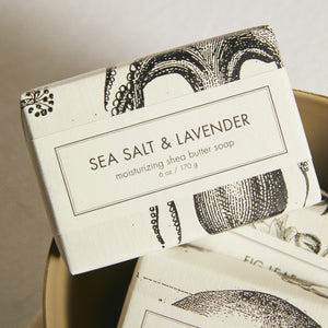Sea Salt & Lavender  Shea Butter Bar Soap - picnic-sf