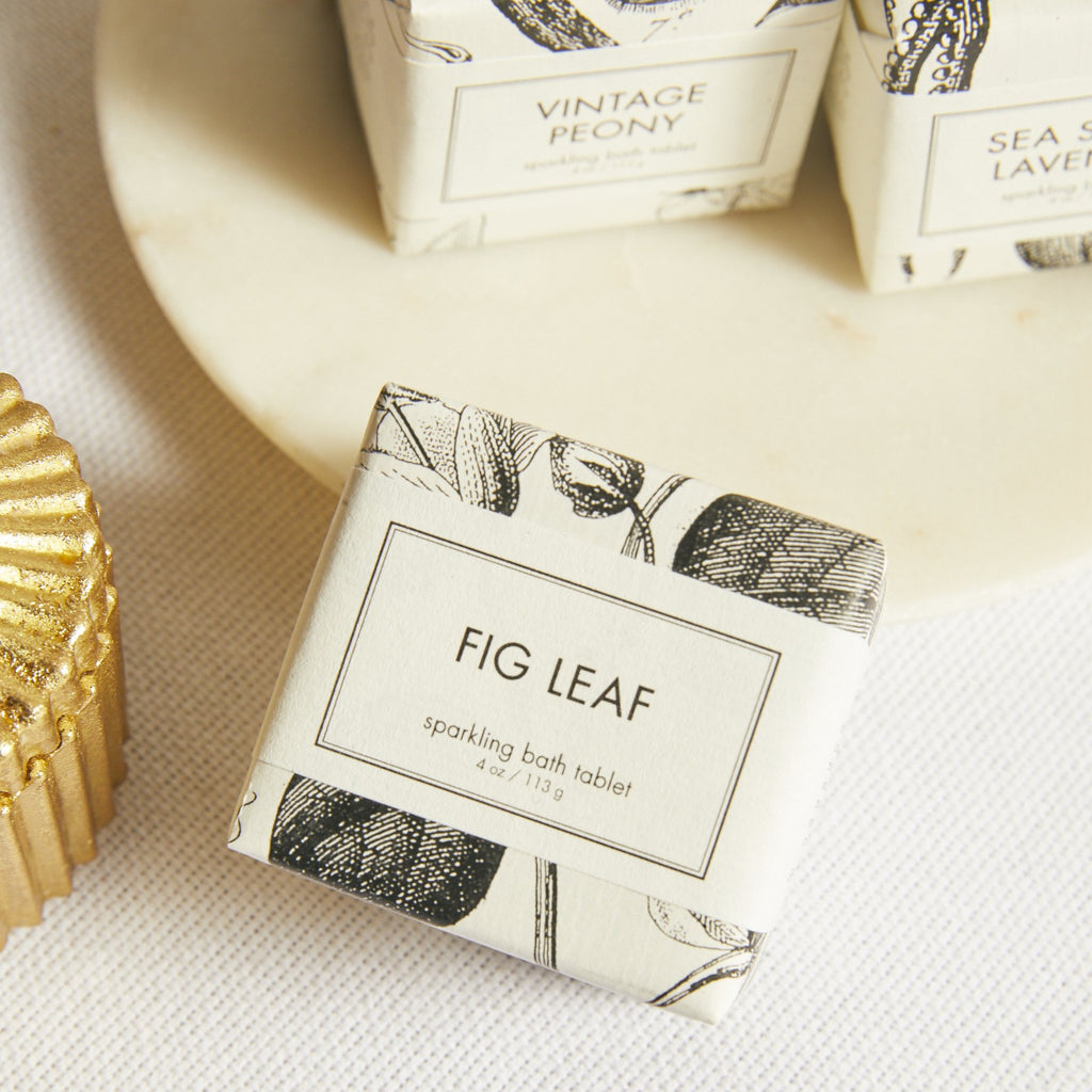Fig Leaf Sparkling Bath Tablet - picnic-sf