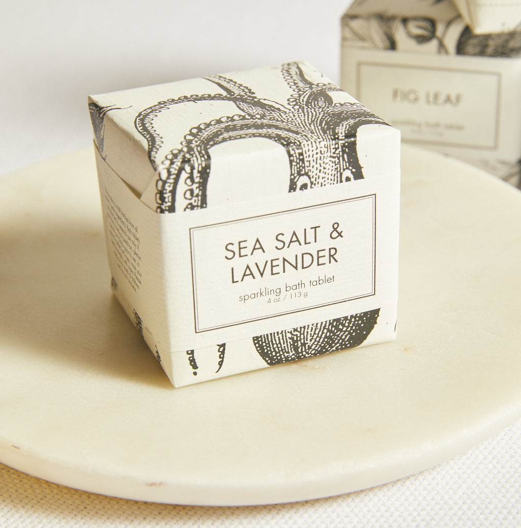 Sea Salt & Lavender Sparkling Bath Tablet - picnic-sf