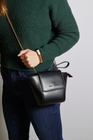 Adele Black Crossbody Bag - picnic-sf
