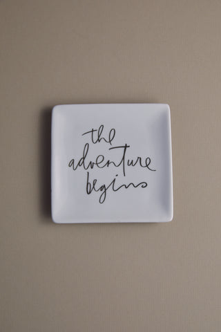 Adventure Begins Tray
