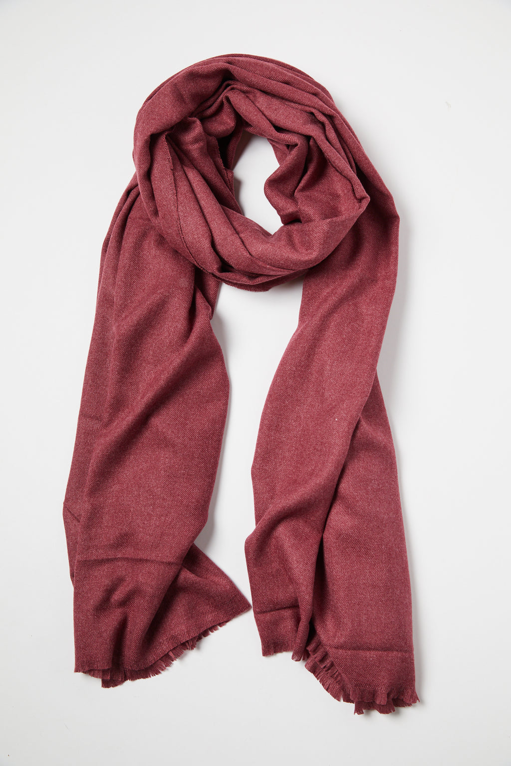 Burgundy Oversize Travel Wrap Scarf - picnic-sf