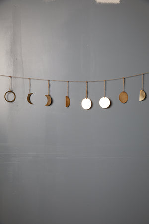 Phases of Moon Garland