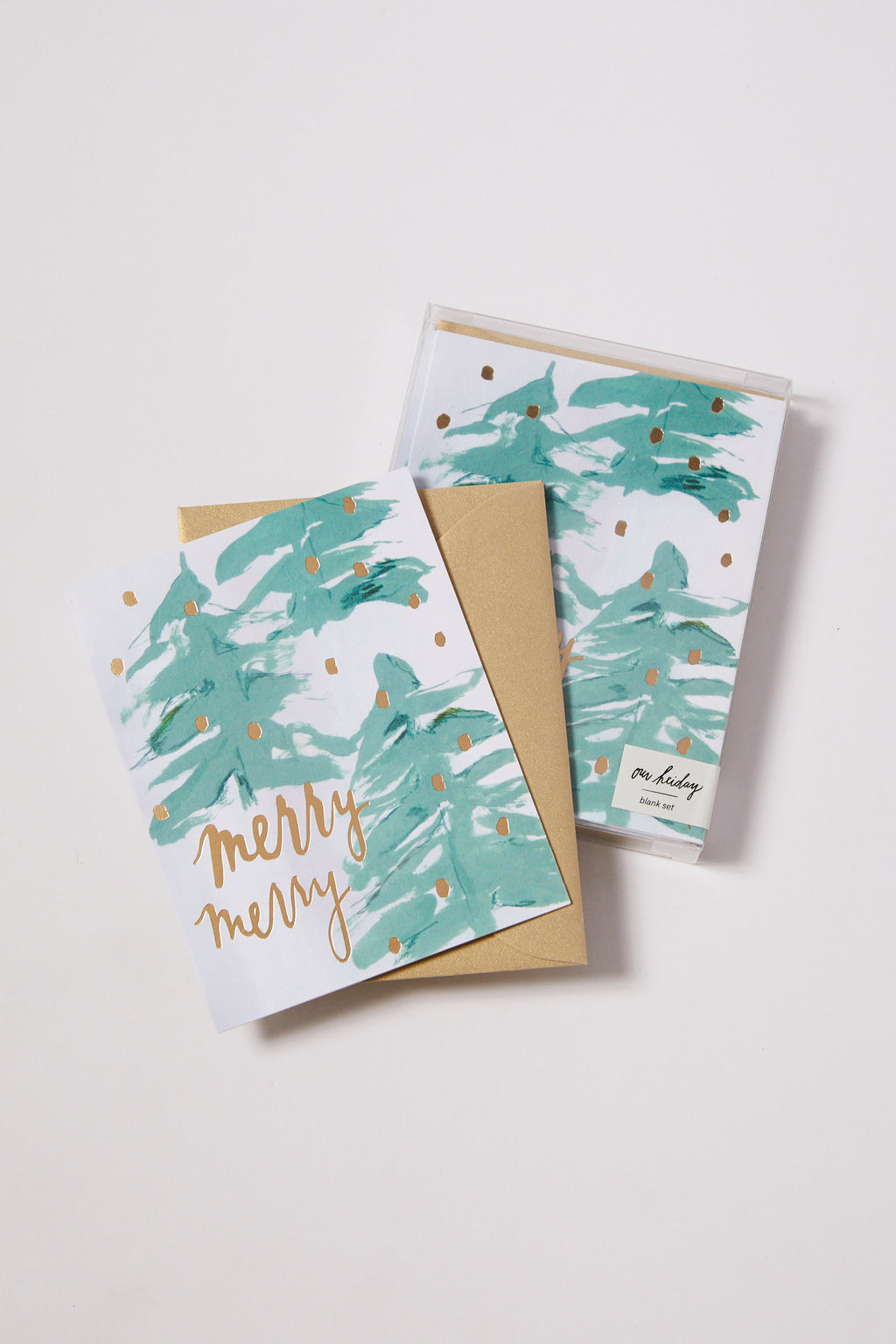 Merry Merry Season's Greeting Card Set