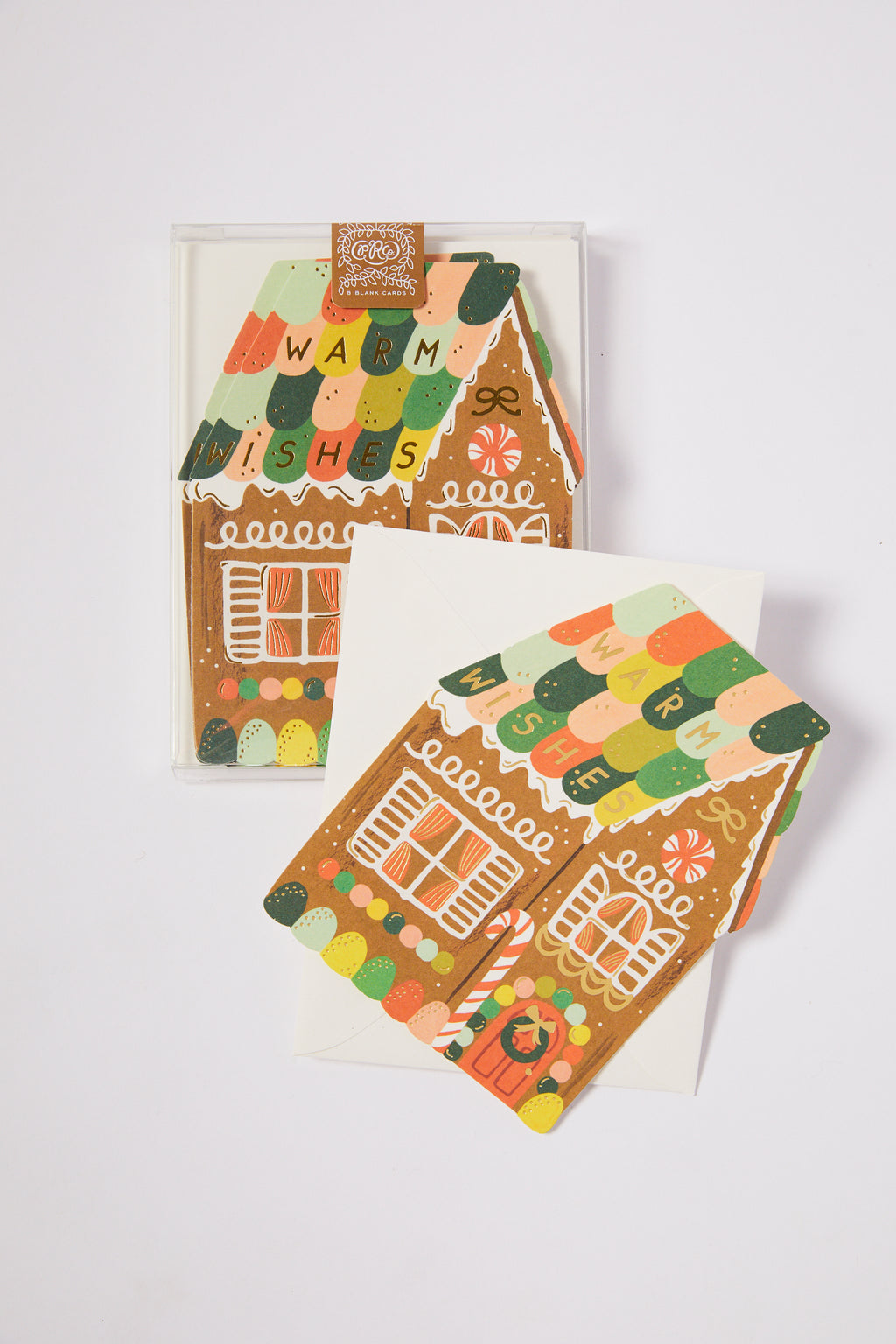 Gingerbread House Holiday Card set