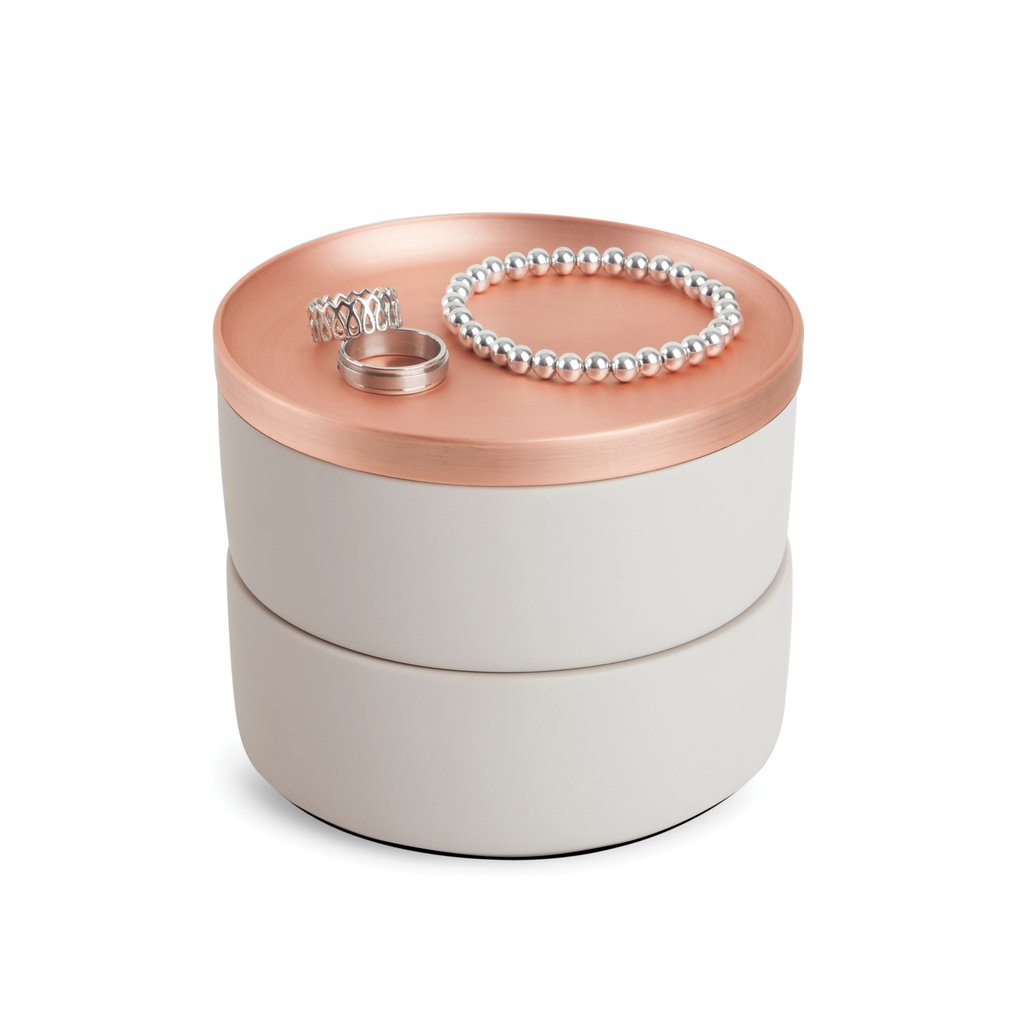 Concrete Copper Tesora Jewelry Box-Picnic-sf