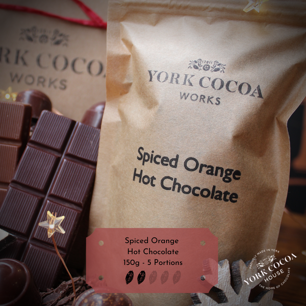 Spiced Orange Hot Chocolate 150g Packet