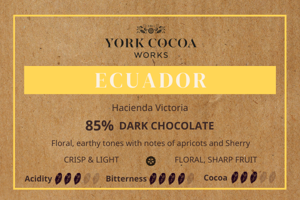Ecuador 85% Tasting Notes