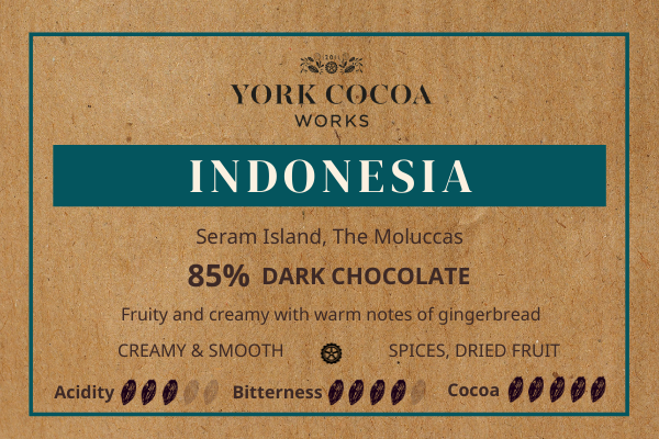 85% Indonesia Chocolate - 30g Bar - Case of 20