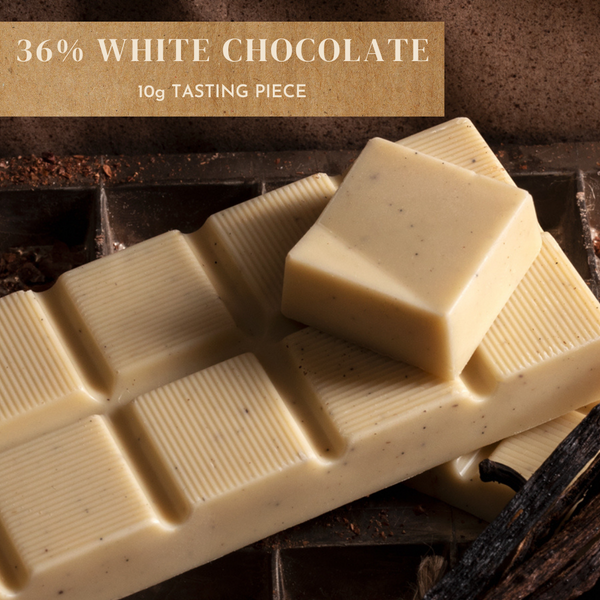 36% White Chocolate - 10g Piece