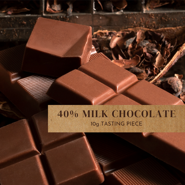 40% Classic Milk Chocolate - 10g Piece
