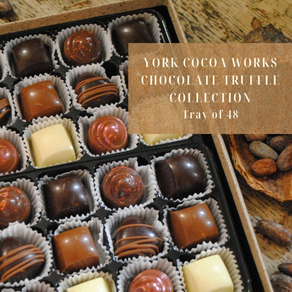 York Cocoa Works Chocolate Truffle Collection - Box of 48