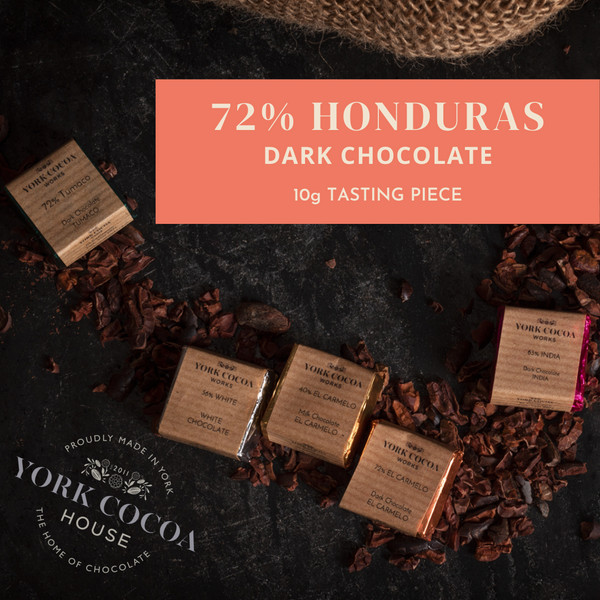 72% Honduras Dark Chocolate - 10g Piece