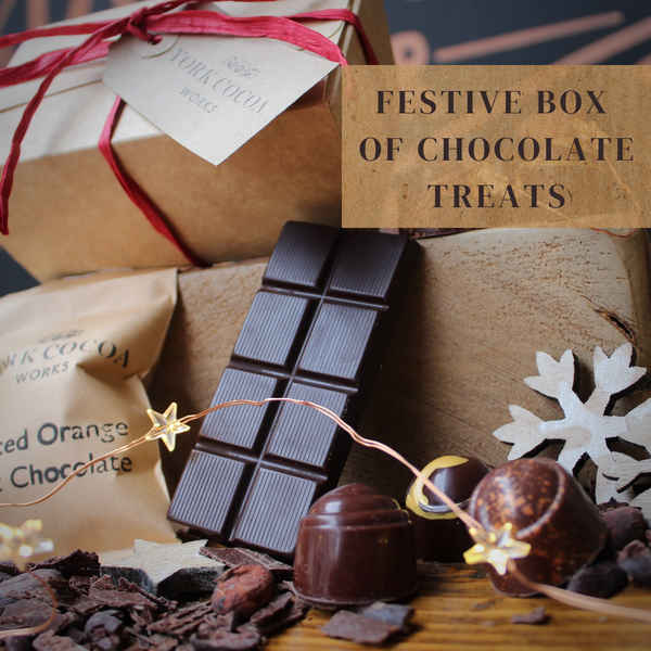 Festive Box of Chocolate Treats - Case of 10