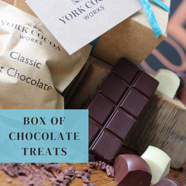 York Cocoa Works Box of Chocolate Treats - Case of 10