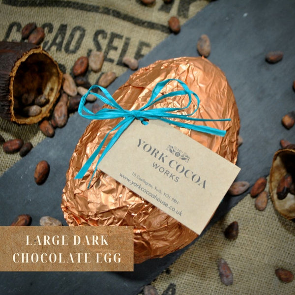 Large Dark Chocolate Egg in Gift Box