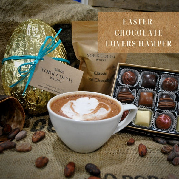 Easter Chocolate Lovers Hamper with Large Chocolate Egg