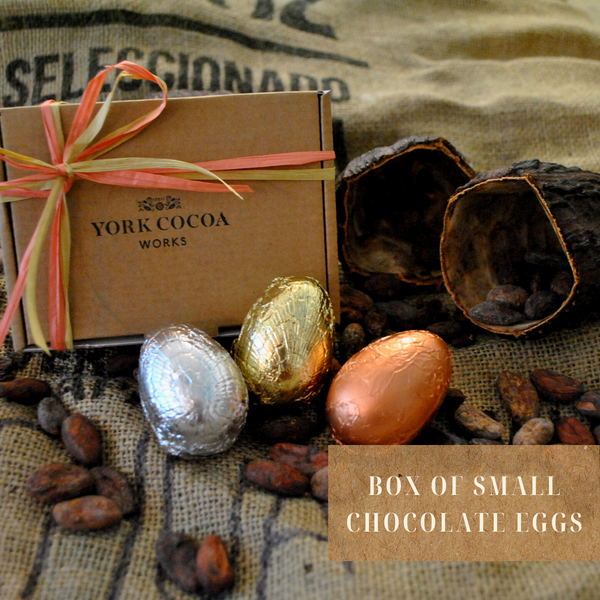 Box of Small Chocolate Eggs