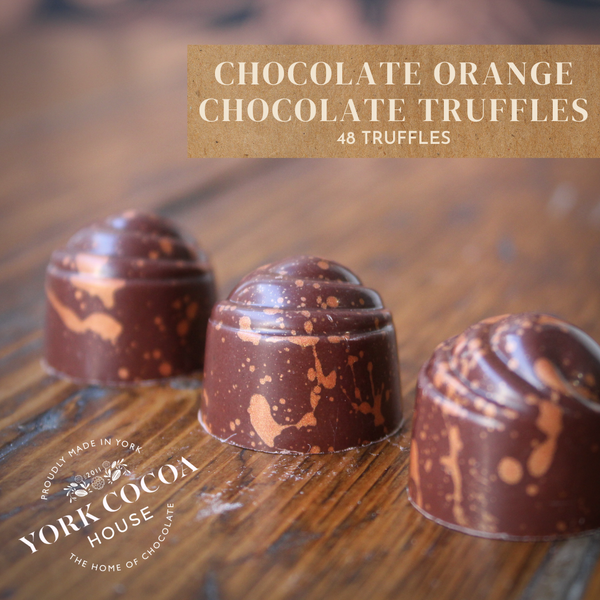 Chocolate Orange Chocolate Truffles - Large Box x 48 Truffles
