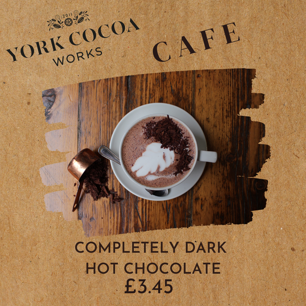 Complete Dark Hot Chocolate - Cafe
