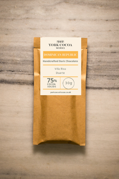 75% Dominican Republic Dark Chocolate - 30g Bar