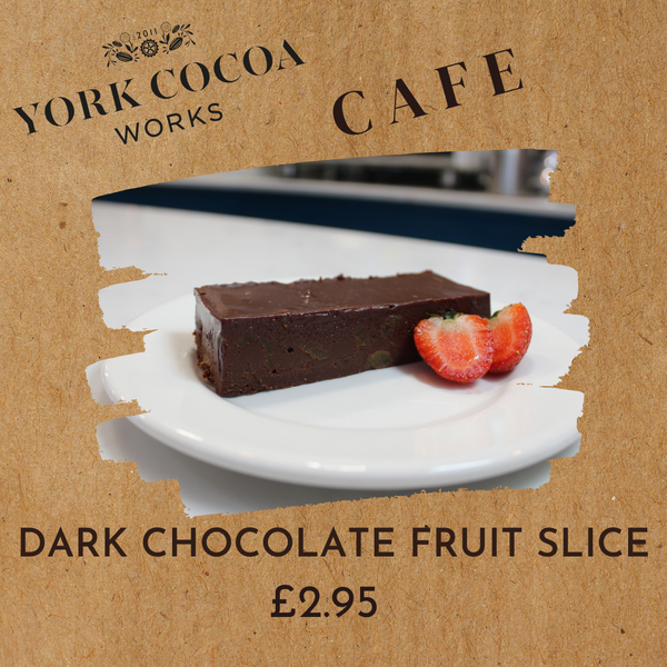 Dark Chocolate Fruit Slice - Cafe