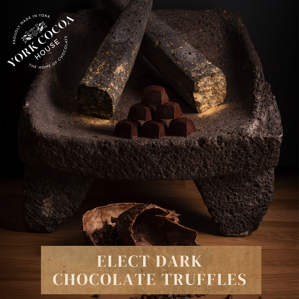 Elect Dark Chocolate Truffles - Large Box x 48 Truffles