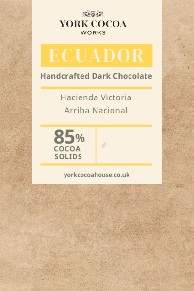85% Ecuador Dark Chocolate - 250g Chocolate Shards