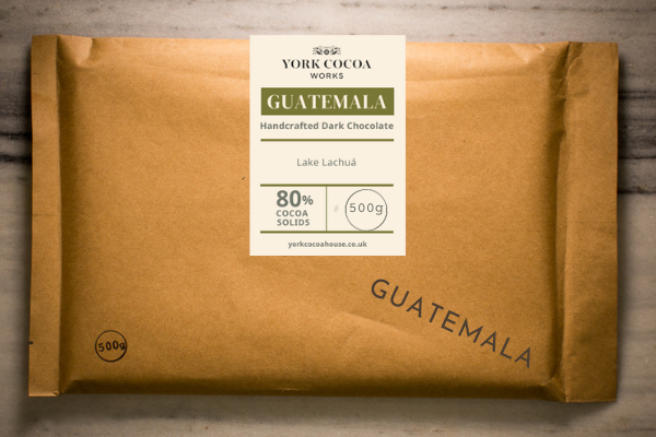 80% Guatemala Dark Chocolate - Large 500g Bar