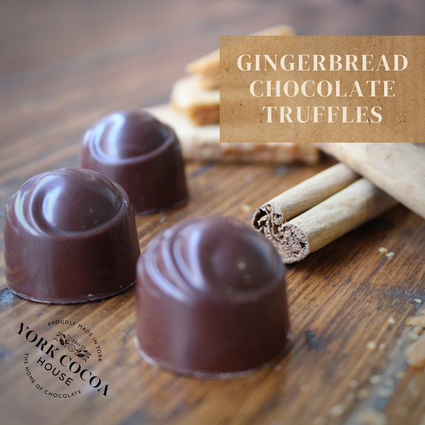 Gingerbread Chocolate Truffles - Large Box x 48 Truffles
