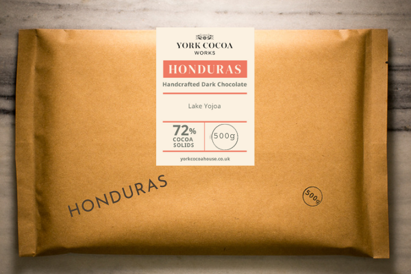 72% Honduras Dark Chocolate - Large 500g Bar