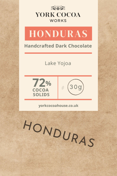 72% Honduras Dark Chocolate - 30g Bar - Case of 20