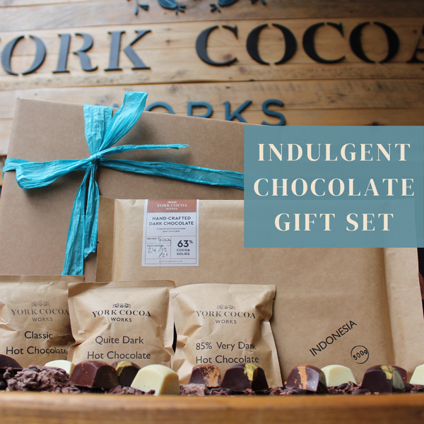 York Cocoa Works Indulgent Chocolate Gift Set
