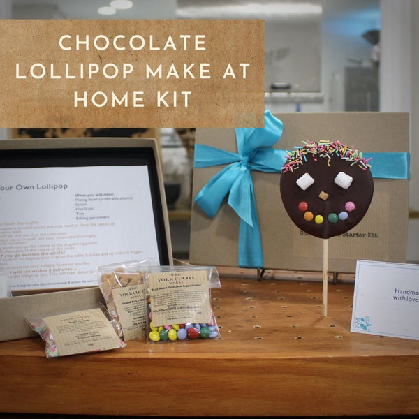 Chocolate Lollipop Make at Home Kit