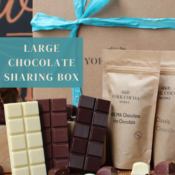 York Cocoa Works Large Sharing Chocolate Box