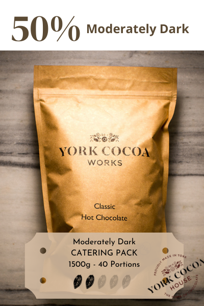 Classic Dark Hot Chocolate - 1.5kg Catering Pack