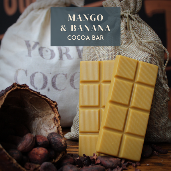 Mango & Banana Cocoa Bar - 30g