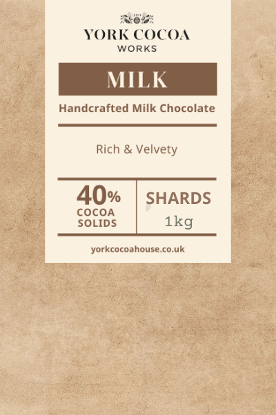 40% Milk Chocolate - 1kg Shards