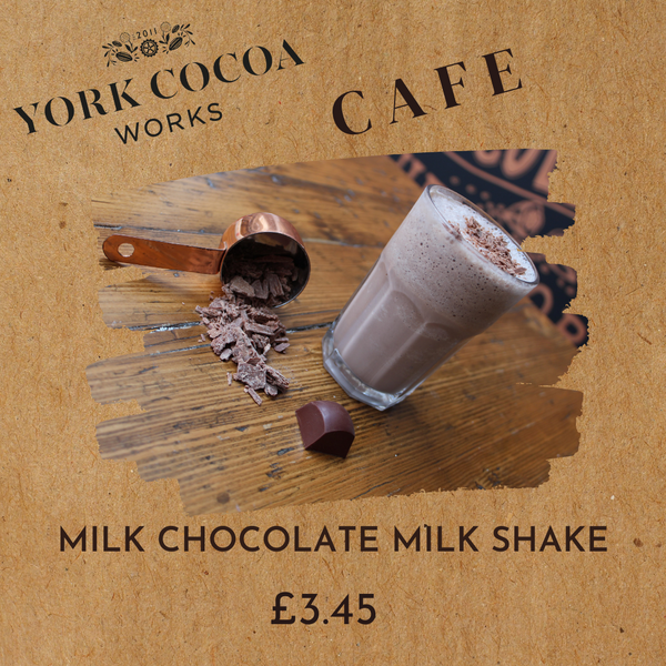 Milk Chocolate Milk Shake - Cafe