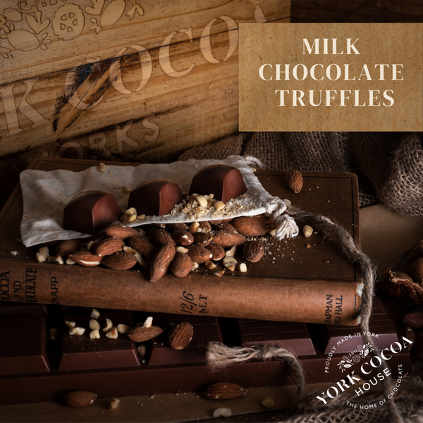 Milk Chocolate Truffles - Large Box x 48 Truffles
