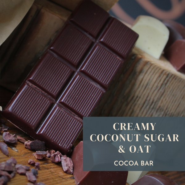 Creamy Coconut Sugar Cocoa Bar - 30g