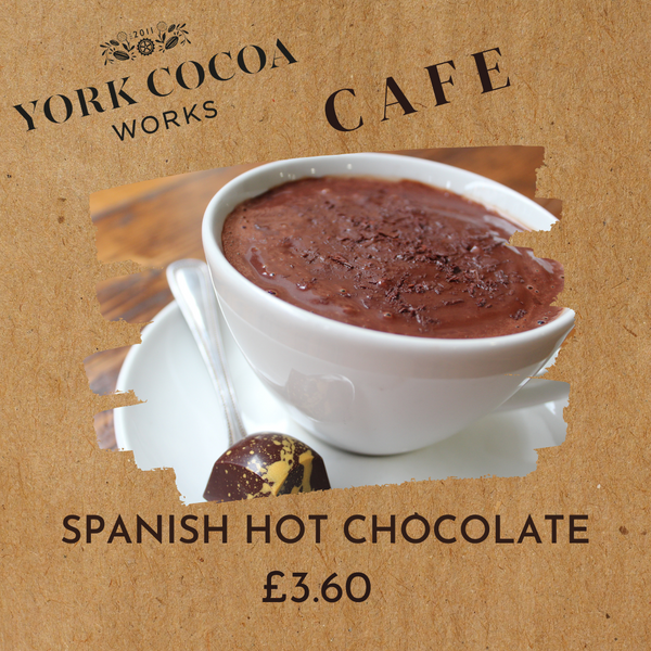Spanish Hot Chocolate - Cafe